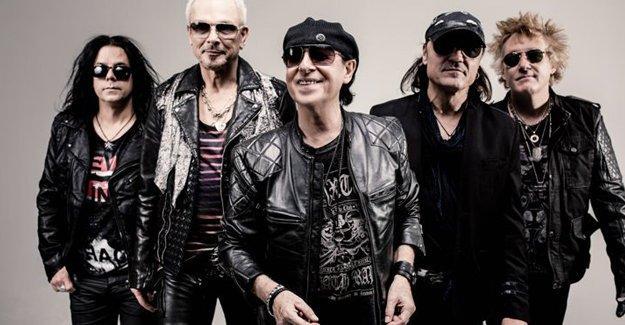 Dünyaca ünlü rock grubu Scorpions İstanbul'a geliyor