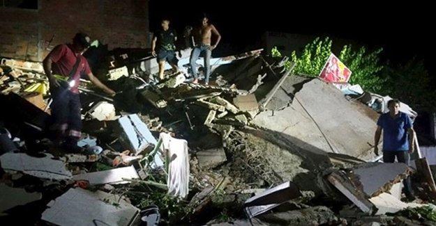 Ekvador'daki depremde ölü sayısı yükseliyor