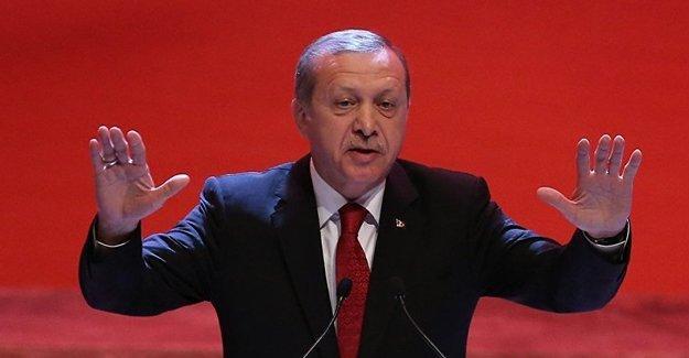 Erdoğan: 1919'dan başlatılan tarih anlayışını reddediyorum