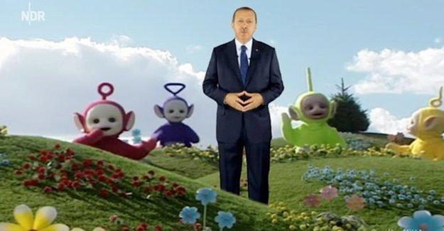 Erdoğan, Almanya'da yine mizah konusu