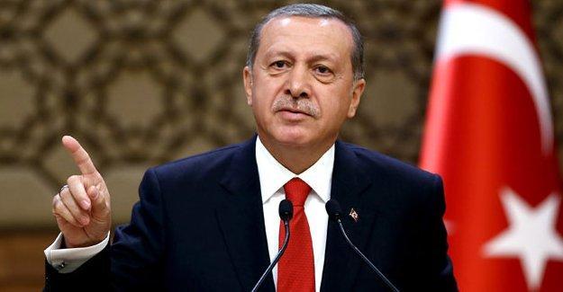 Erdoğan ifade özgürlüğüne sığındı