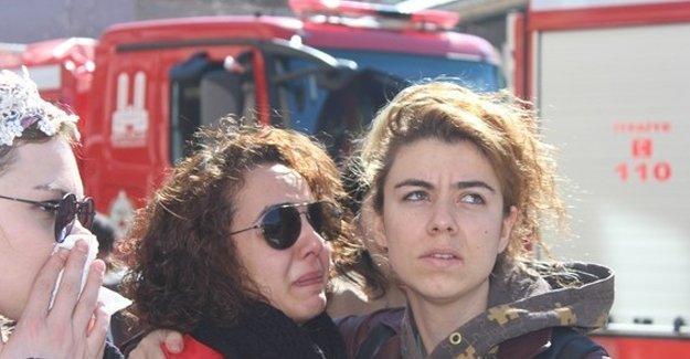 Erzurum Devlet Tiyatrosu'nda yangın