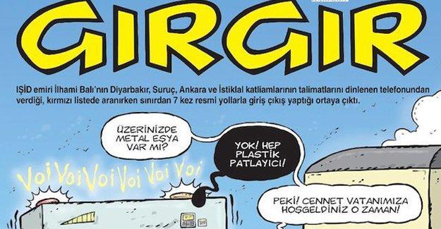 Gırgır'ın kapağında 'IŞİD emiri'