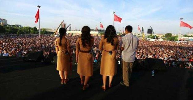 İstanbul Valiliği, Grup Yorum konserine 'infial yaratabilir' diyerek izin vermedi