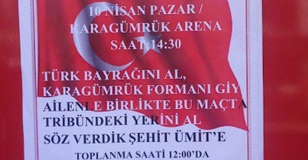 Karagümrükspor-Amedspor maçı öncesi provokatif çağrı