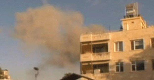 Kilis'teki camiye roket atıldı: 1 ölü, 10 yaralı