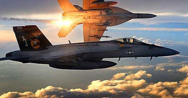 Koalisyon, IŞİD'in Cerablus'taki hedeflerini bombaladı