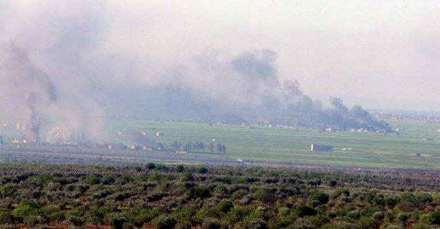 Koalisyon'dan Kilis karşısındaki IŞİD hedeflerine hava harekâtı