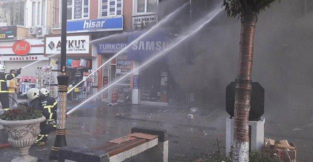 Kütahya'da mağazada patlama: 3 yaralı
