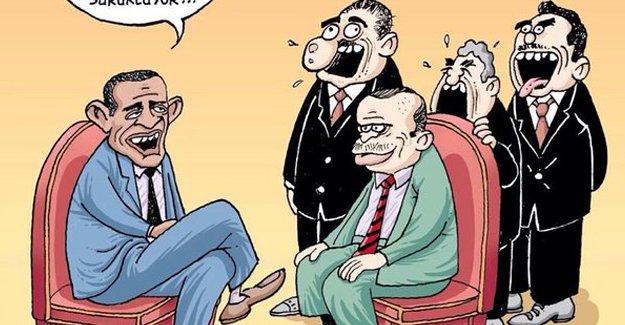 Leman'dan Erdoğan ve Obama kapağı