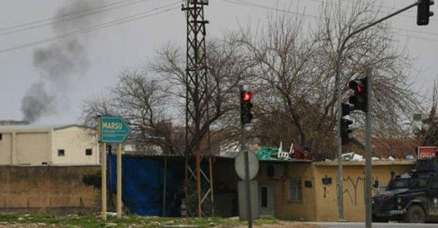 Mardin'de zırhlı araca roketli saldırı