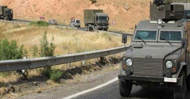 Mardin'de zırhlı aracın geçişi sırasında patlama: 2'si ağır 12 polis yaralı