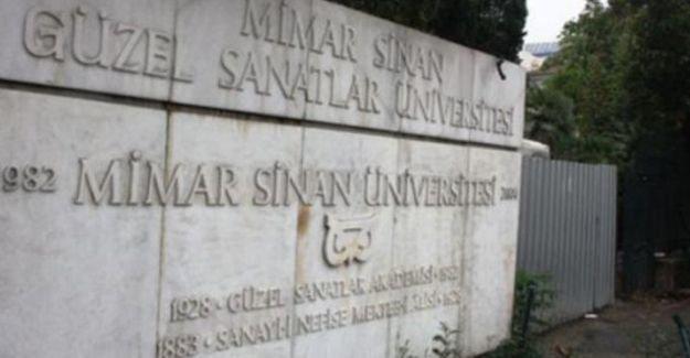 Mimar Sinan'daki gözaltılar: 7 öğrenci adli kontrol şartıyla serbest bırakıldı
