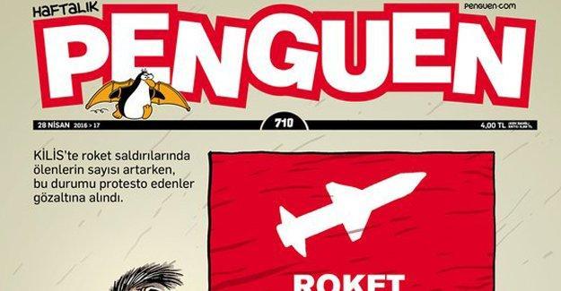 Penguen: Roket saldırısında ölmek tehlikeli ve yasaktır