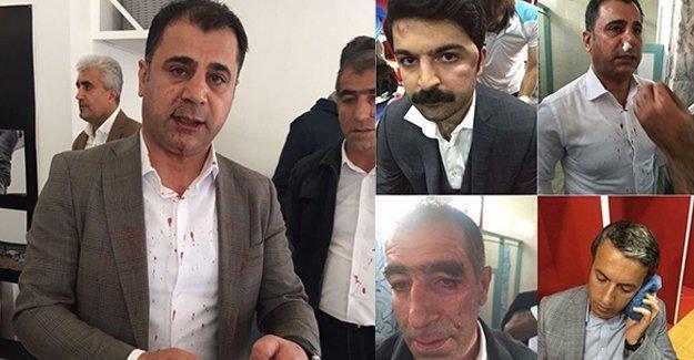 Protokolde linç girişimi: Amedsporlu 6 yönetici hastaneye kaldırıldı