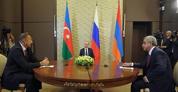 Putin'den Aliyev ve Sarkisyan'a Karabağ'da tam kapsamlı ateşkes çağrısı