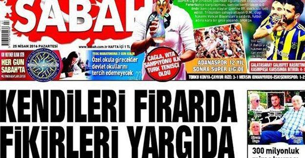 Sabah'a 35 bin lira tazminat cezası