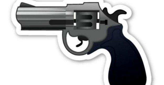 Silah emojisi atan gence hapis cezası