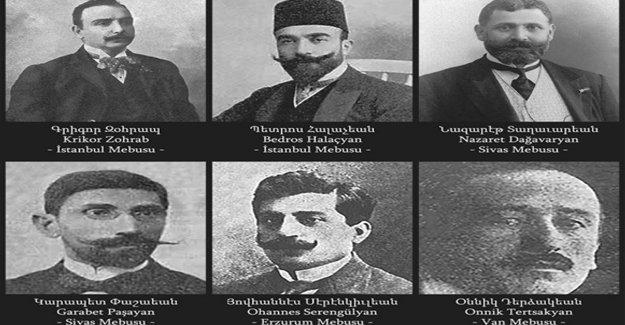Soykırımda katledilen Ermeni vekiller ilk kez Meclis gündeminde