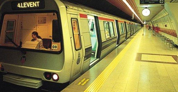 Taksim metrosunun seferleri durdu