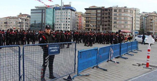 Taksim Meydanı'nda güvenlik önlemleri