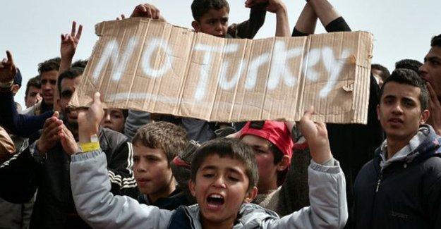 Sığınmacılar Türkiye'ye dönmemekte kararlı