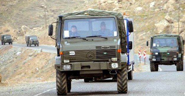 Mardin Dargeçit'te 8 asker yaralandı