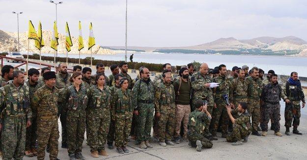 'YPG öncülüğündeki Demokratik Suriye Güçleri, Minbiç operasyonuna hazırlanıyor'