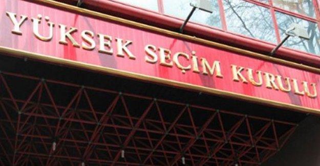 YSK, 6 ilin milletvekili sayısını değiştirdi