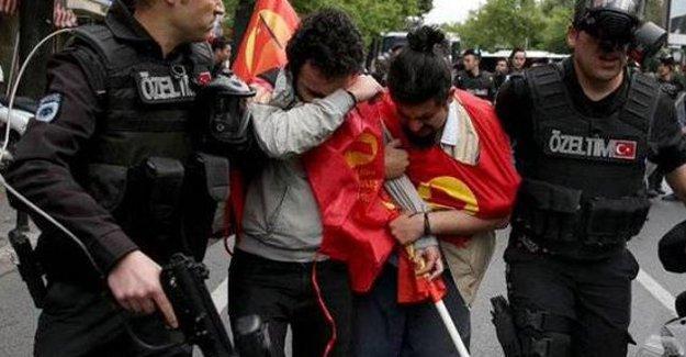 1 Mayıs bilançosu: 120 kişi gözaltında