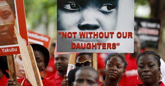 2014 yılında Boko Haram'ın kaçırdığı bir 'kız çocuğu' bulundu