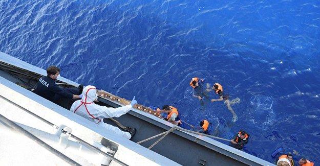 Akdeniz'de ikinci göçmen faciası