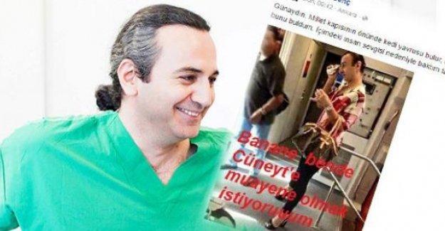 Ankara'da transfobik açıklamalar yapan doktordan özür