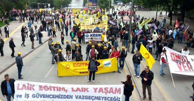 """Ankara'da emekçiler alanlara çıktı: """"Modern kölelik dayatılıyor"""""""