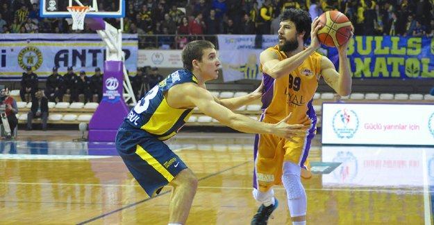 Antep-Fenerbahçe basketbol maçı ertelendi