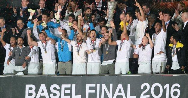 Avrupa Ligi'nin şampiyonu Sevilla