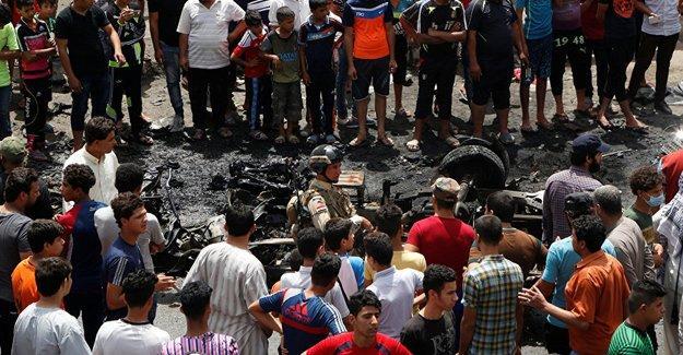 Bağdat'ta Şii bölgesine bombalı saldırı