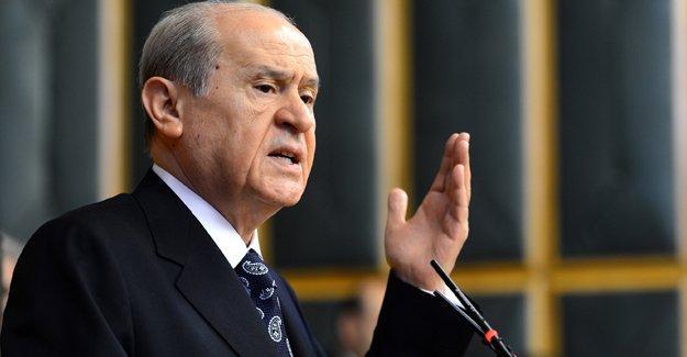Bahçeli: Terörizmle mücadele ettiği sürece MHP iktidarın destekçisidir