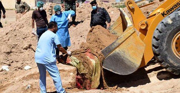 BM IŞİD'den alınan bölgelerde 50'den fazla toplu mezar buldu