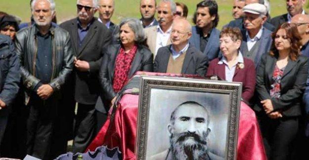 Dersim'de katledilenlerin kemikleri, 78 yıl sonra defnedildi