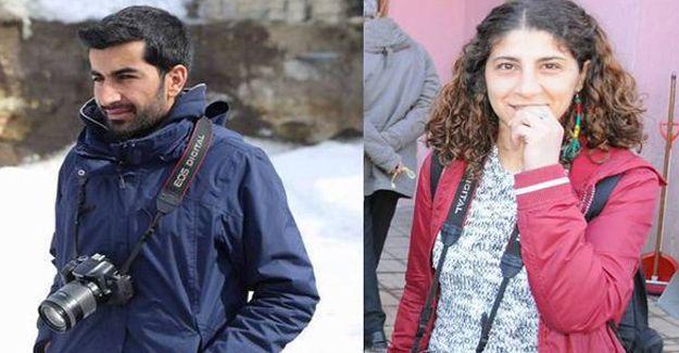 DİHA muhabirleri Soydan ve Türfent gözaltına alındı