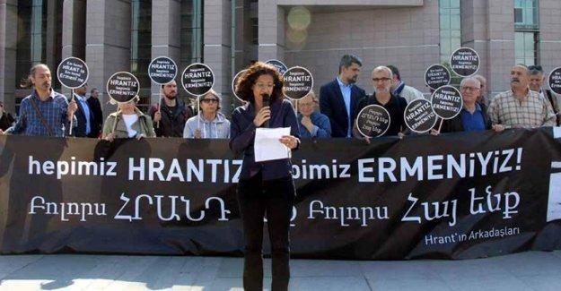 Hrant'ın Arkadaşları: Adalet nöbetini tutmaya devam edeceğiz