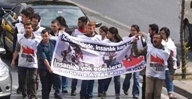 Dünya İnsani Zirvesi'ni protesto: 15 gözaltı