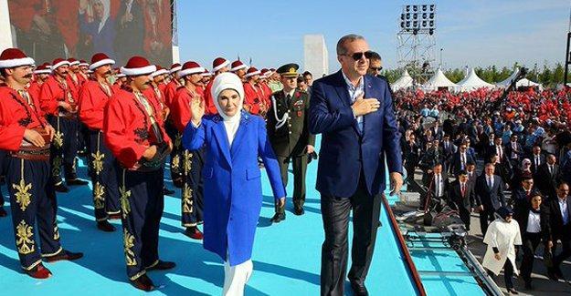 """Erdoğan'dan Suriye iddiası: """"Rejim, DAİŞ ve PYD, üçlü bir sac ayağı"""""""