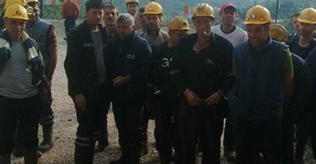 Ermenek'te madenciler üretimi durdurdu