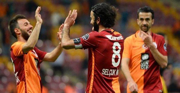 Galatasaray Kayserispor maçı sona erdi