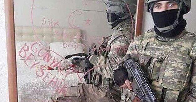 Askerlerin yatak odasında fotoğraf çektiği evin sahibi konuştu: İnadına o evde yaşayacağım