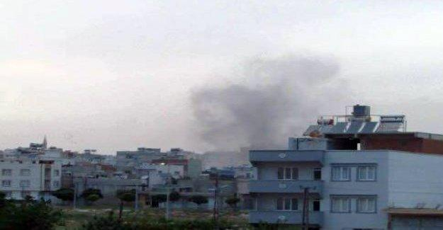 IŞİD Kilis'i yine vurdu