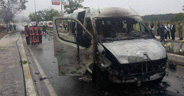 İstanbul Sancaktepe'de bombalı araçla saldırı