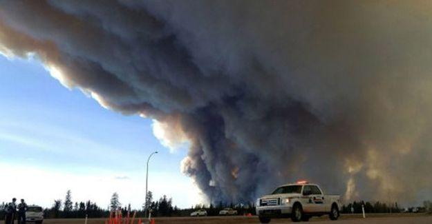 Kanada'da yangın 2 haftadır sürüyor
